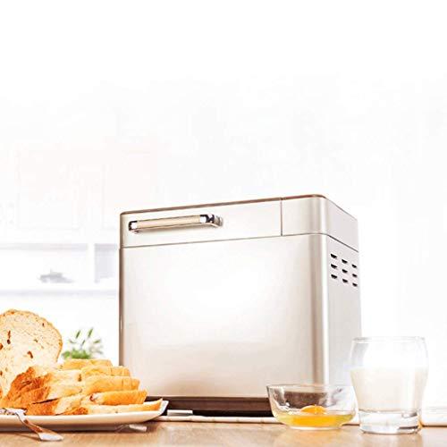 Digital Bread Maker con dispensador automático de ingredientes: 18 funciones preestablecidas de 600W, incluidas pasta sin gluten y de masa agria, ...