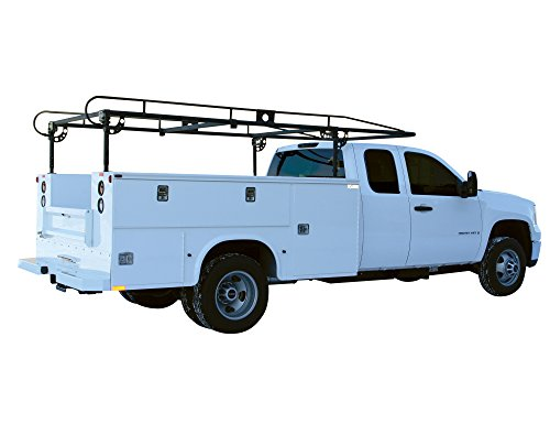Buyers Products 1501200 Service Body Ladder Rack 13-1/2 Ft. Black Wrinkle Powder Coated Steel ()