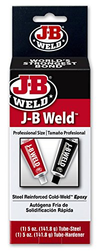 J-B Weld 8280 Original Professional Size Steel Reinforced Epoxy - 10 oz. ()