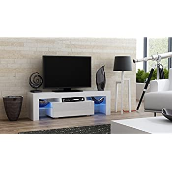 TV Stand MILANO 130 / Modern LED TV Cabinet / Living Room Furniture / Tv  Console Part 82