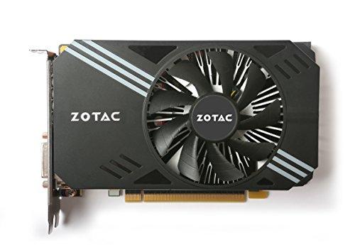 Zotac ZT-P10600A-10L - Tarjeta gráfica (GeForce GTX 1060, 6 GB, GDDR5, 192 bit, 8000 MHz, PCI Express x16 3.0)