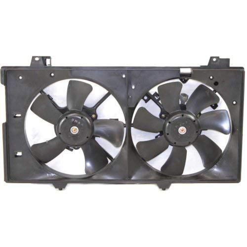 Replacement Mazda Fan Shroud - New Radiator Fan Shroud Assembly For 2003-2008 Mazda 6 without Turbo, 2.3L Engine MA3115127 L32115025L