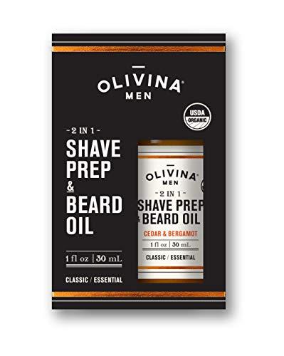 Olivina Shave Beard Cedar Bergamot product image