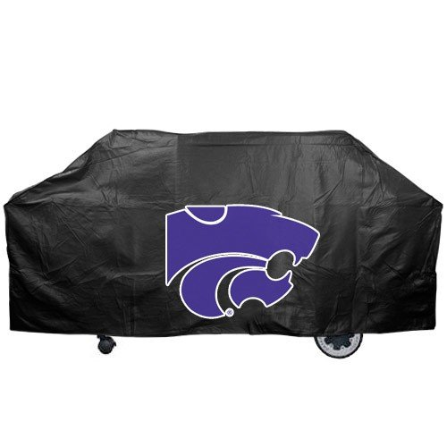 Kansas State Wildcats Black Grill Cover - Kansas State Grill Cover