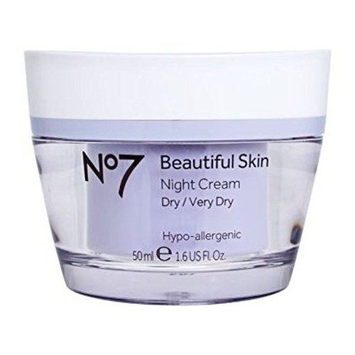 No7 Beautiful Skin Night Cream For Dry / Very Dry ()