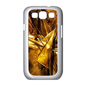 Abstraction Patterns Lines Light Samsung Galaxy S3 9300 Cell Phone Case White G6846591