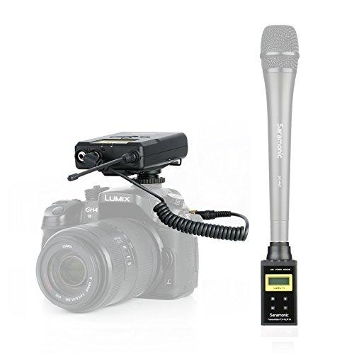 Saramonic UwMic15B Professional Portable UHF Digital Wireless System for XLR Microphone ,For News Gathering & Reporting, Interview, Filmmaker by Saramonic