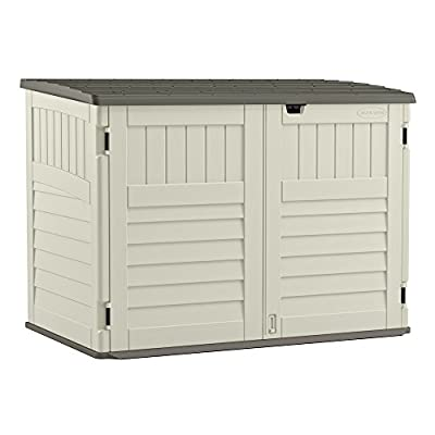Suncast BMS4700 The Stow-Away Horizontal Storage Shed, (70-cubic Feet)