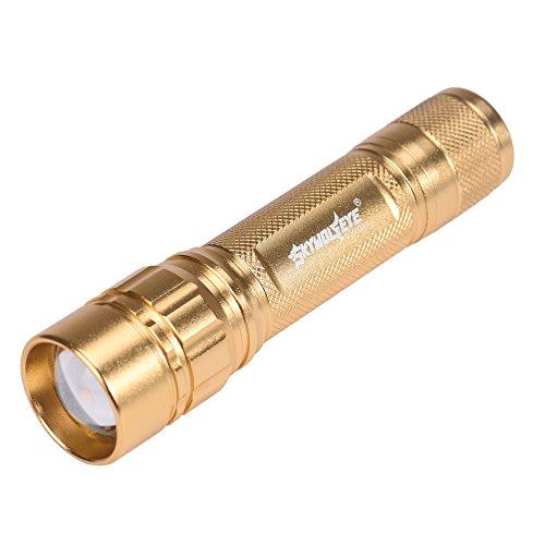 (Fenebort Flashlight 1PC/2PCs/3PCs/4PCs/5PCs Zoomable Waterproof 3000 Lumen Super Bright 3 Modes XML XPE LED Focus 18650 Gold Lamp)