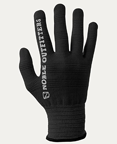 (TrueFlex Roping Gloves Noble Outfitters Black 12-Pack Large)