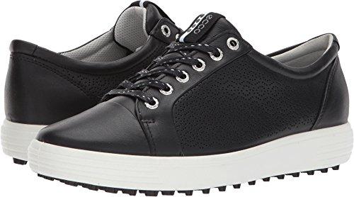 ECCO Women's Casual Hybrid 2 Golf Shoe, Black, 38 EU/7-7.5 M US (Women Golf Shoes 7 Spikeless)