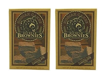 Kodiak Cakes Big Bear Brownie Mix, Double Chocolate Chunk, 18-Ounce Box (Pack of 2)