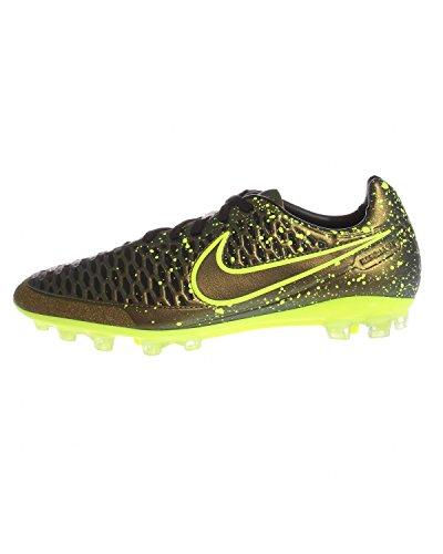 Nike Magista Orden Ag-r, Botas de Fútbol para Hombre Verde / Amarillo / Negro (Dark Citron / Drk Citron-Blk-Vlt)