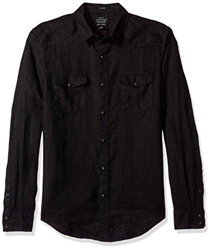 lucky-brand-mens-santa-fe-western-shirt-reef-linen-black-medium