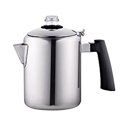 Cook N Home 8-Cup Stainless Steel Stovetop Percolator made by Cook N Home