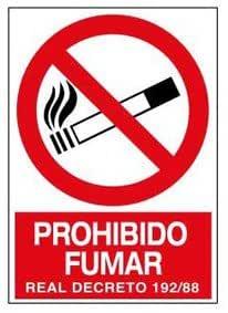 Wurko 3008 Cartel Prohibido Fumar: Amazon.es: Bricolaje y ...