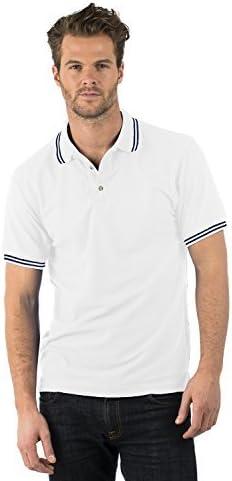 Bruntwood Prima Calidad con Punta de Polo Camisa - Premium Tipped ...