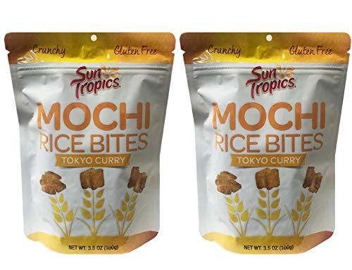 GENJI SUSHI Mochi Rice Bites Tokyo Curry, 3.5 OZ