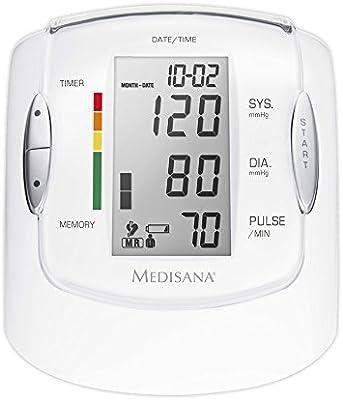 Medisana MTP Pro Tensiómetro para el brazo, pantalla de arritmia ...