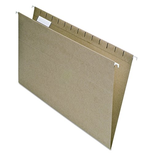 (Pendaflex Earthwise 100% Recycled Hanging File Folders, 1/5 Cut, Legal Size, Natural, 25 per Box (76542))