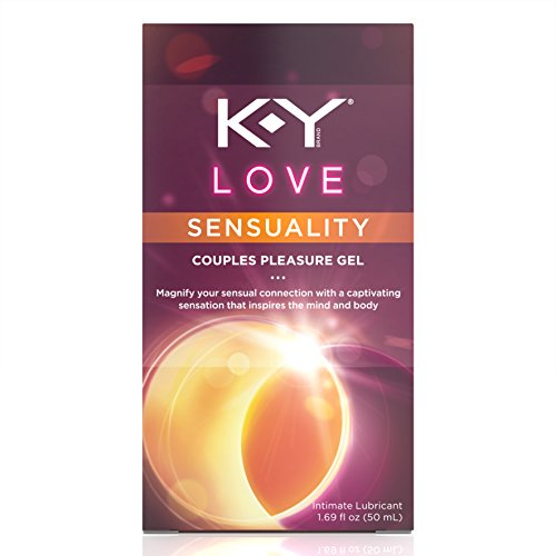 Personal Lubricant, K-Y Love Couples Lube, 1.69 oz., Pleasure Gel, Sensuality, Magnify Your Senses