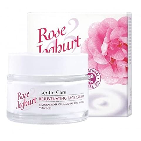 Rose Joghurt Gentle Care Rejuvenating Face Cream with Natural Rose Water, Natural Rose Oil, Yoghurt, Lactobacillus Bulgaricus, Squalane, Macadamia Oil and UV Filter.1.7 oz/50 - 1.7 Ounce Energizing Shampoo