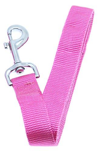 "Barking Basics Dog Leash - Pink - 1"" x 6' Length"