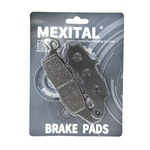 MEXITAL MXB229-231-192 remblokken motorfiets half metaal Avant droite