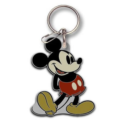 1pcs Mickey Mouse Vintage Llavero Cadena: Amazon.es: Coche y ...