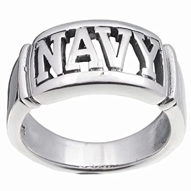 tressa sterling silver large armed forces ring army size 13 amazon