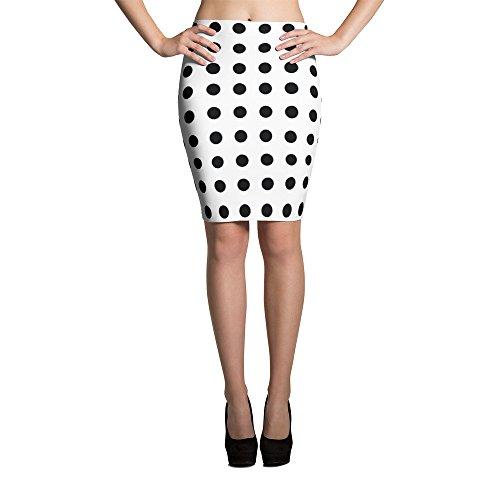 4e9798da48f Best Travel Wardrobe Black Polka Dot Pencil Skirt by Best Travel Wardrobe