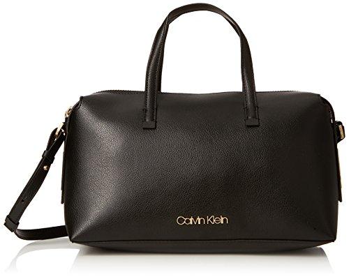 Calvin Klein K60K604448 FRAME DUFFLE LANIERE Femme Noir (Black)