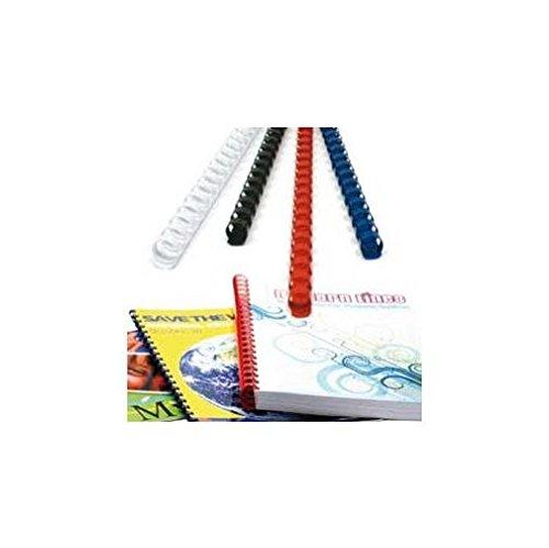 Titanium 68502 Dorso Plastico, Diametro di 22 mm, Rosso Office Distribution Spa