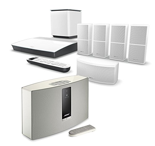 Click to buy Bose Lifestyle 600 Home Entertainment System, White, with SoundTouch 20 Series III Wireless Bluetooth Speaker, White - From only $2999