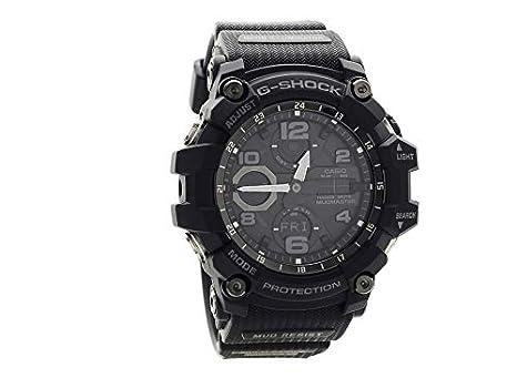 Casio Reloj Analógico-Digital para Hombre de Cuarzo con Correa en Caucho GWG-100-1AER: Amazon.es: Relojes