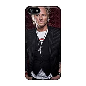 Shock Absorbent Cell-phone Hard Covers For Iphone 5/5s With Custom High-definition Guns N Roses Skin VIVIENRowland