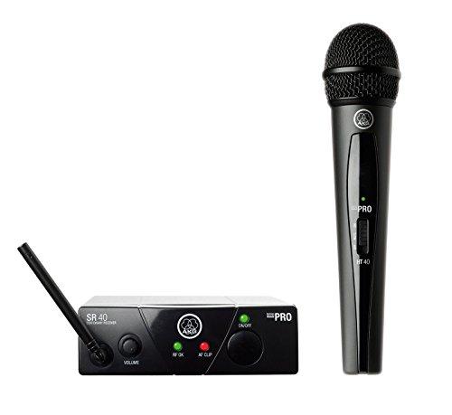 Akg Mini Microphone - AKG WMS40 Wireless Mini Single Vocal Microphone Set, Band 45a