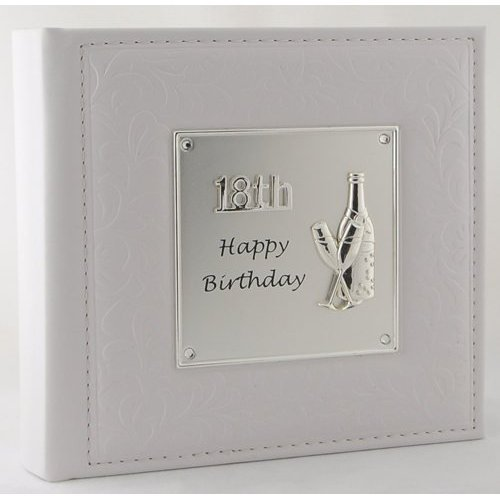 Deluxe Happy 18th Birthday Photo Album Shudehill Giftware 77982