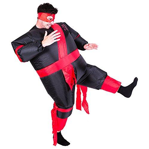 Wecloth Inflatable Suit Ninja Suits Warrior Costume Sumo Wrestling -