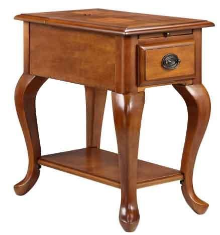 Stein World Shenandoah Accent Table, Golden Honey (Traditional Stein Table World)