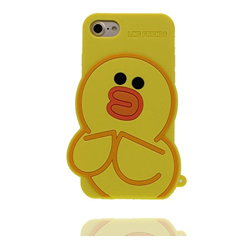 """iPhone 6 (4.7"""") Coque, [ de matériau TPU souple élégant durable canard ] iPhone 6s étui (4.7 pouces), poussière glissement résistant aux rayures, iPhone 6 (4.7"""") Case et stylet"""