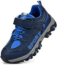 Troadlop Kids Shoes Boys Waterproof Running Hiking Sneakers for Girls