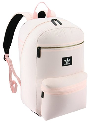 adidas Originals National Plus Backpack, Lt Pink, One Size