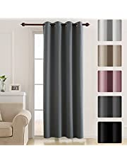 Deconovo Eyelet Thermal Insulated Blackout Curtain 52x54in,52x72in,52x63in,52x84in,52x95in