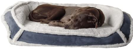 K9 Ballistics Luxury Orthopedic Memory Foam Bolstered Dog Bed Waterproof Liner