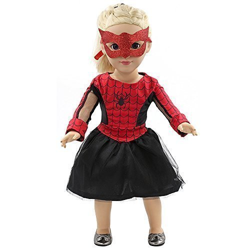 Spiderman Dress Clothes Fits 18'' American Girl Dolls by Vanna Wan (Spiderman Clothes For Girls)