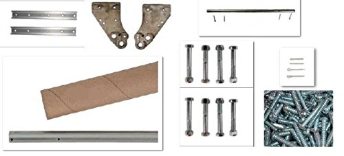 Magliner Hand Truck Hardware Kit Includes Axle, Brackets, Supports & Hardware by Modular Parts