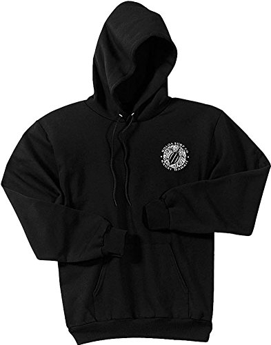 Koloa Hawaiian Turtle Logo Hoodies-Hooded Sweatshirt-Black-S (Hoodie Black Big Logo)