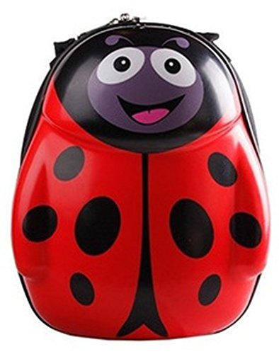 The Ladybird Double Shoulders Backpack for Kids