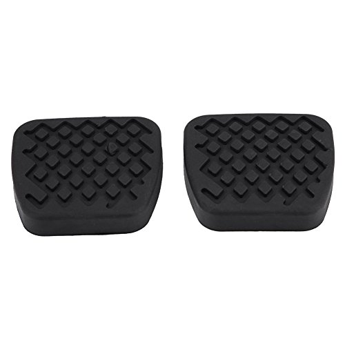 Dibiao 4pcs Car Fuel Brake Clutch Pedal Cover for W203 W204 W210 W211 W212 CE